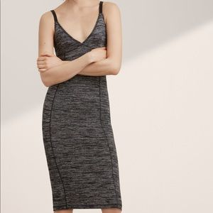 Wilfred Vera bodycon marled dress